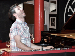 Gwilym Simcock at the Pizza Express London