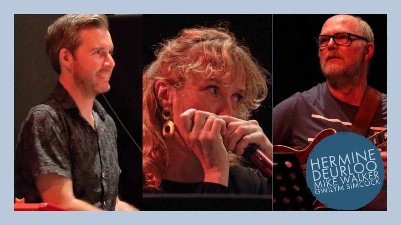 Gwilym Simcock trio with Mike Walker and Hermine Deurloo